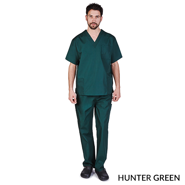 8e17f6c51f9 UNISEX SOLID V-NECK, CARGO POCKET SCRUB SET (STYLE# 102) - M&M Scrubs